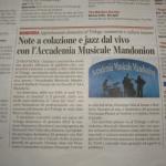 CORRIERE DEL GIORNO13/01/2012